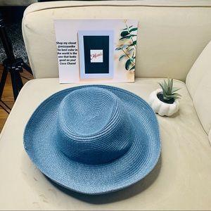Betmar New York blue state summer hat
